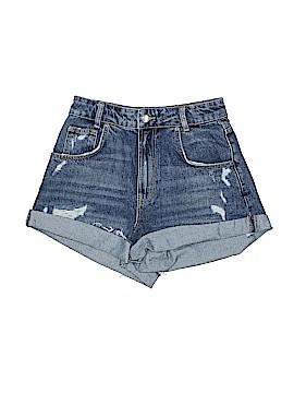 Zara TRF Denim Shorts Size 36 (EU)