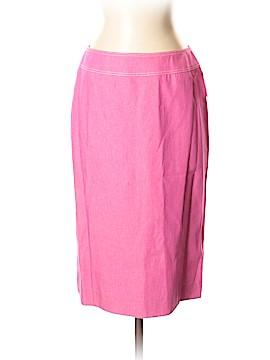Tahari by ASL Denim Skirt Size 2