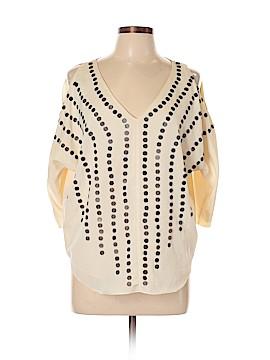 Sparkle & Fade Short Sleeve Blouse Size L