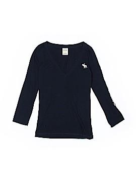 Abercrombie 3/4 Sleeve T-Shirt Size 8