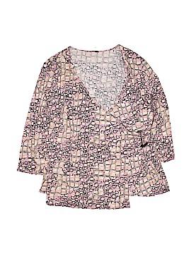 Milano 3/4 Sleeve Top Size 1X (Plus)