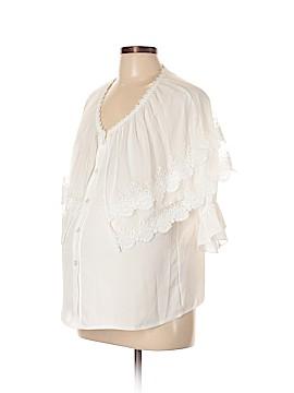Momo 3/4 Sleeve Blouse Size L (Maternity)