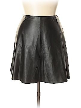DKNYC Leather Skirt Size 12