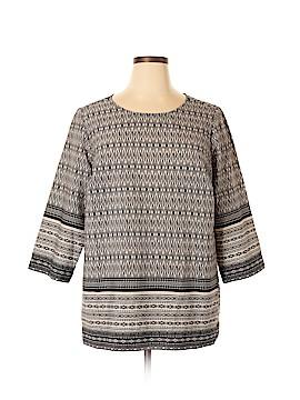 Lila Rose 3/4 Sleeve Blouse Size 1X (Plus)