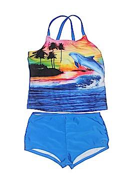 Op Two Piece Swimsuit Size 7 - 8