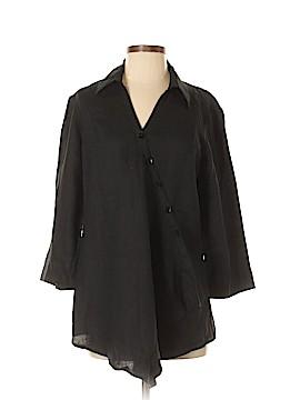 Jones New York Sport 3/4 Sleeve Blouse Size S