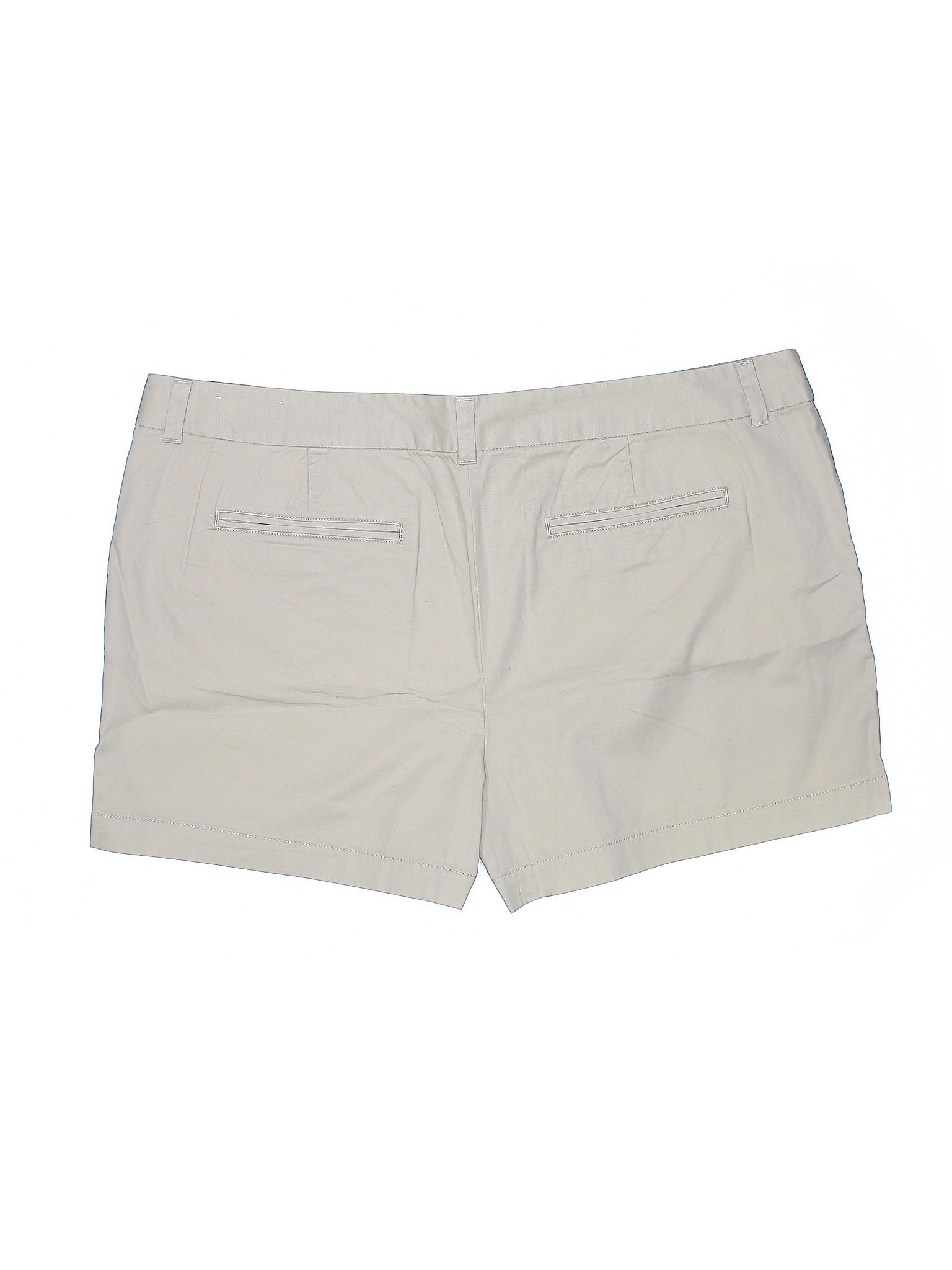 Shorts Ann Khaki Taylor winter Leisure LOFT nZXw0FXq
