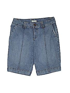 St. John's Bay Denim Shorts Size 8 (Petite)