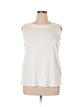 Talbots Sleeveless T-Shirt Size 2X (Plus)