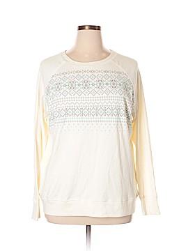 Eddie Bauer Sweatshirt Size 2X (Plus)