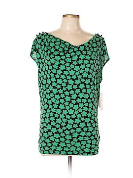 Leifsdottir Short Sleeve Silk Top Size M