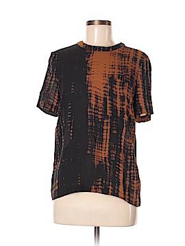 A.L.C. Short Sleeve Silk Top Size 6