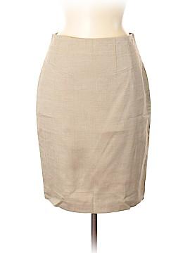 Ann Taylor Silk Skirt Size 6 (Petite)