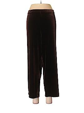 Impressions Velour Pants Size XL