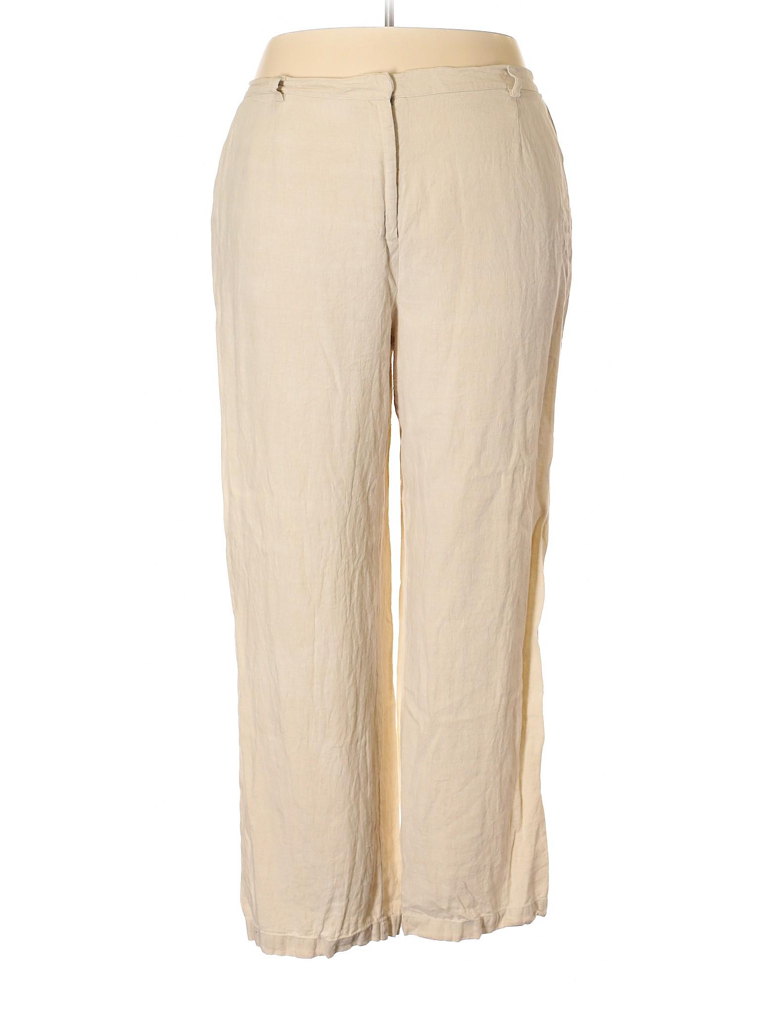Boutique Pants Collection Linen M winter zw4rqxz