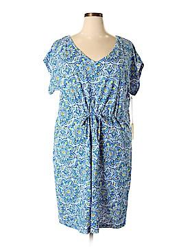 Caribbean Joe Casual Dress Size 2X (Plus)