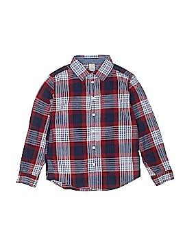 Gymboree Long Sleeve Button-Down Shirt Size 10/12