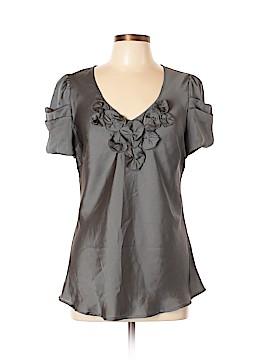 Sunny Leigh Short Sleeve Blouse Size XL