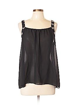 Ya Los Angeles Sleeveless Silk Top Size L