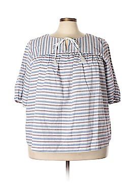 ELOQUII Short Sleeve Top Size 22 - 24 Plus (Plus)