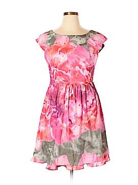 Suzi Chin Casual Dress Size 12 (Petite)