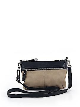 Merona Leather Crossbody Bag One Size