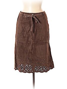 Isaac Mizrahi for Target Leather Skirt Size 6