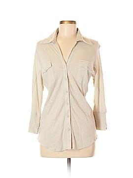 Verve Ami 3/4 Sleeve Button-Down Shirt Size M
