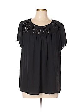 Torrid Short Sleeve Blouse Size 0X Plus (0) (Plus)