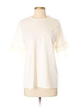 Clu Short Sleeve Silk Top Size S