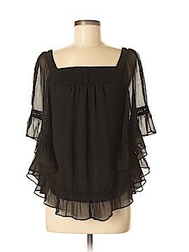 ECI 3/4 Sleeve Blouse Size M
