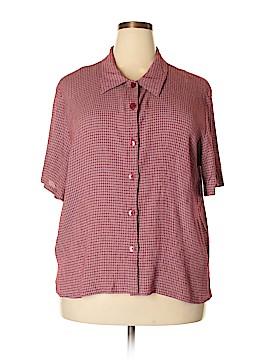 Uniform Short Sleeve Button-Down Shirt Size 2X (Plus)