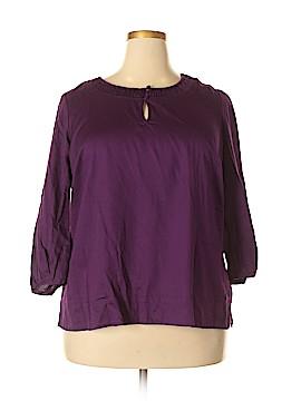 Talbots 3/4 Sleeve Blouse Size 2X (Plus)