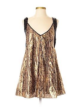 Bebe Sleeveless Silk Top Size XXS