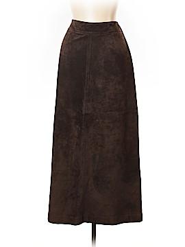 Ann Taylor LOFT Leather Skirt Size 12