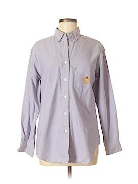 Lauren by Ralph Lauren Long Sleeve Button-Down Shirt Size 8