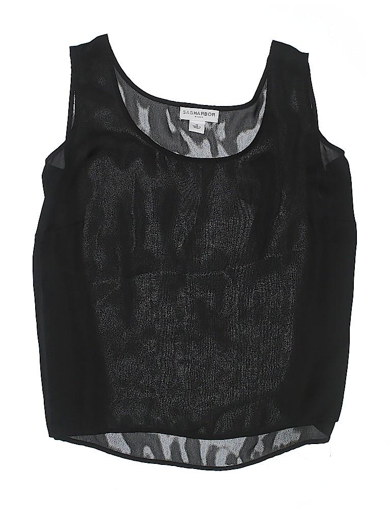 Sag Harbor Women Sleeveless Blouse Size 1X (Plus)