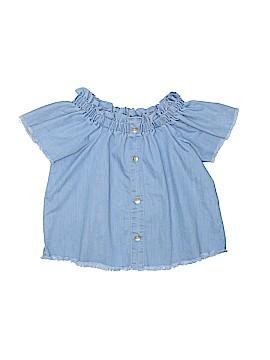 Hudson Short Sleeve Blouse Size M (Youth)