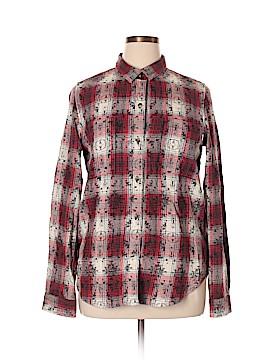 Vans Long Sleeve Button-Down Shirt Size XL