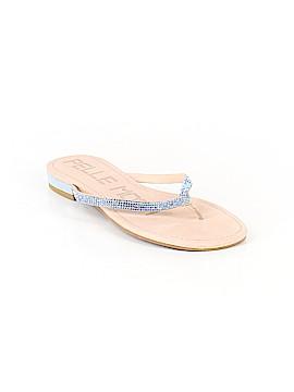 Pelle Moda Flip Flops Size 7