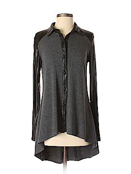 Ariella Long Sleeve Button-Down Shirt Size M