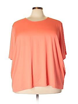 Maggie Barnes Short Sleeve Top Size 4X (Plus)