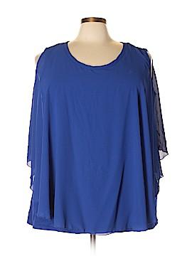 Kim & Cami 3/4 Sleeve Blouse Size 3X (Plus)