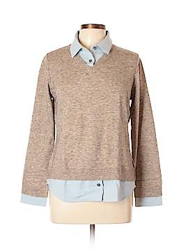 Elizabeth & Clarke Long Sleeve Polo Size 10