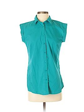 Worthington Short Sleeve Blouse Size M