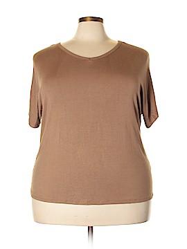 IMAN Short Sleeve Top Size 3X (Plus)