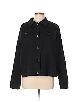 DG^2 by Diane Gilman Denim Jacket Size XL