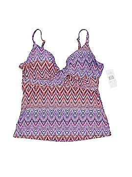 Island Escape Swimsuit Top Size 12