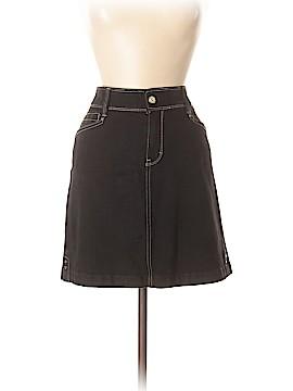 White House Black Market Denim Skirt Size 10