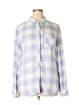 Allison Joy Long Sleeve Button-Down Shirt Size L